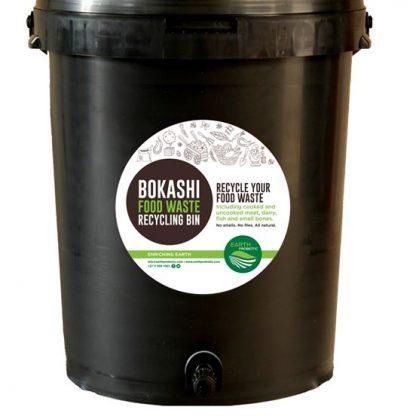 bokashi bin food waste composting