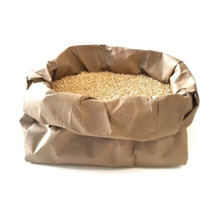 Button to buy white quinoa