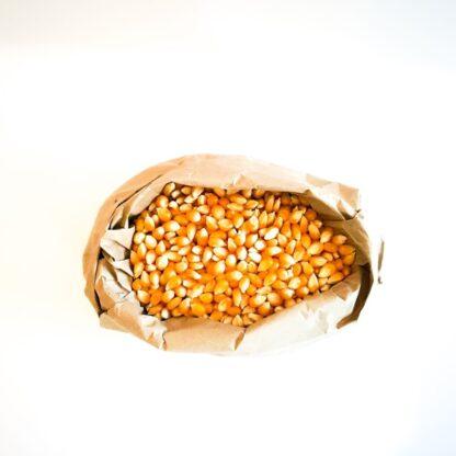 Button to buy zero waste popcorn