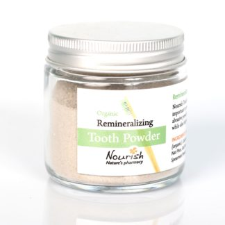 button to buy Nourish tooth powder