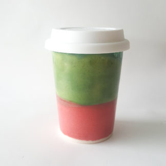Button to buy reusable coffee cup