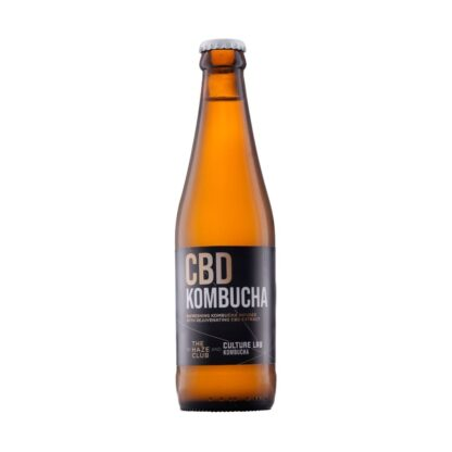 button to buy CBD kombucha