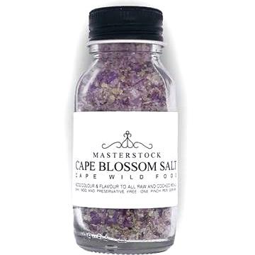 Edible flower salt blend