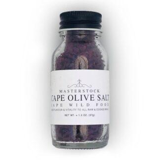 Masterstock Cape Olive Salt in Glass Bottle