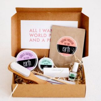 All-natural Vegan At-Home Pedi Kit