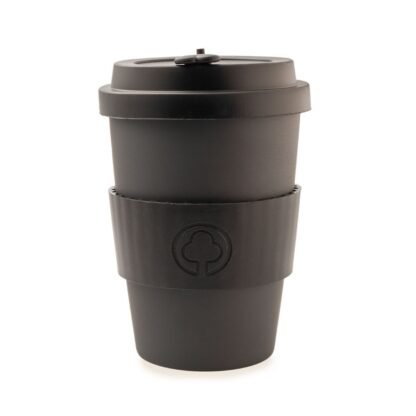 black bamboo cup