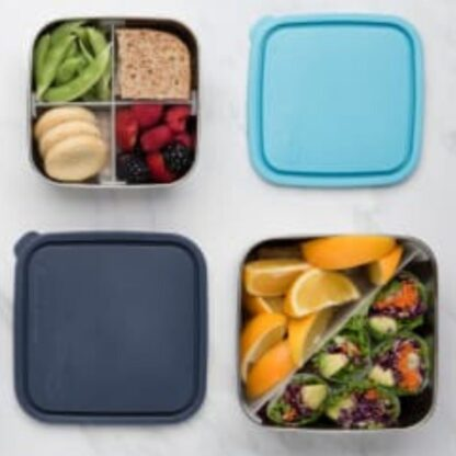 Rich results on Google's SERP when searching for 'zero waste lunch box'