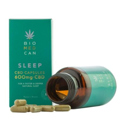 Rich results on Google's SERP when searching for 'Biomedcan CBD Sleep Capsules'