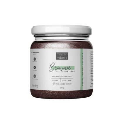 Button to buy Vegan Macro Mixes Brownie Drizzle