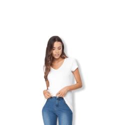 Boody Bamboowear Ladies V-Neck T-Shirt – White