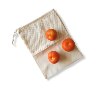 button to buy produce bag