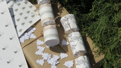 button to buy eco-friendly christmas crackers