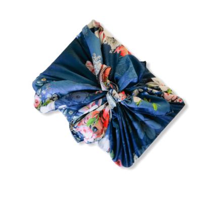 Furoshiki fabric gift wrap