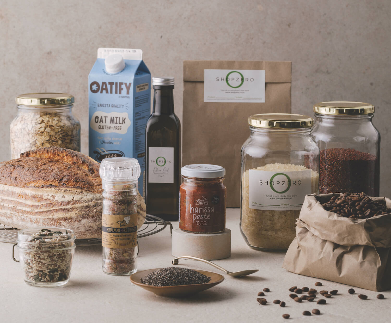 UCOOK Pantry Boxes - Essentials box