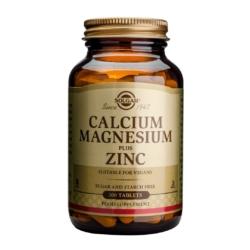 Solgar Calcium Magnesium Plus Zinc Tablets – Pack of 100