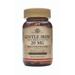 Solgar Gentle Iron 20 mg Vegetable Capsules – Pack of 90