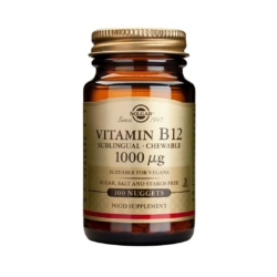 Solgar Vitamin B12 1000 µg Sublingual Nuggets – Pack of 100