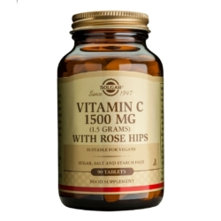 Vitamin C 1500 mg with Rose Hips Tablets – Pack of 90