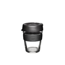 KeepCup Brew Reusable Glass Cup 355ml 'Black'