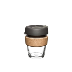 KeepCup 'Nitro' Glass Cup Brew Cork Edition 355ml or 473ml