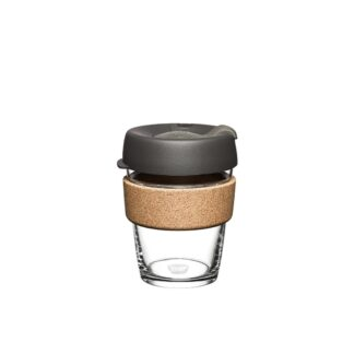 cork and glass cup